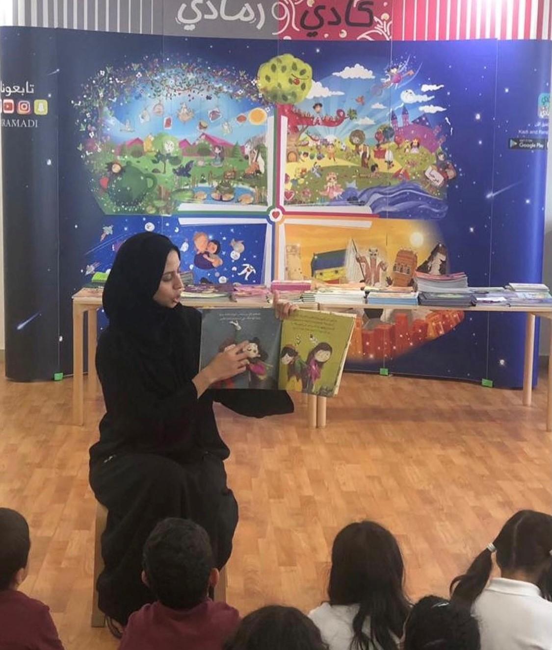 سعدنا بزيارتنا لمدارس جدة وبتفاعل طلابهم مع القراءات القصصة للكاتبات👌🏼 وشكر من القلب لكاتبة قصة قبعةبطل رند صابر وكاتبة قصة على رأسه ريشة البتول